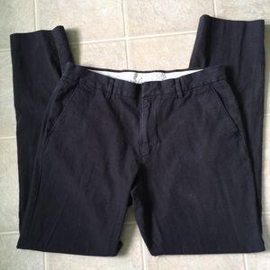 J crew Bowery slim 32 34 dress pants charcoal gray